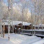 Зимняя изба в Окуловой Заимке
