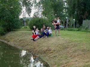 Отдыхающие июль Окулова Заимка1