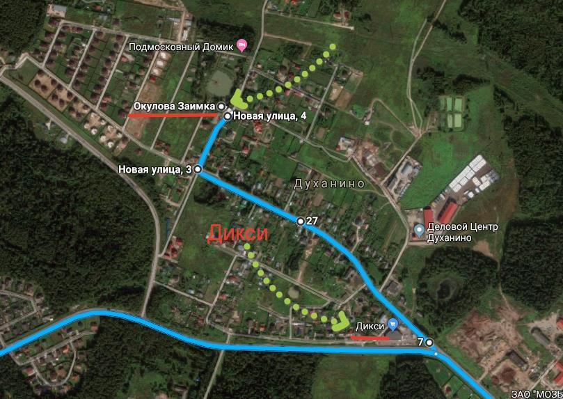 Окулова Заимка - маршрут как проехать в Окулову Заимку