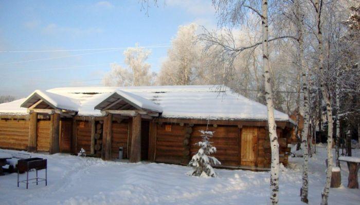 загородный дом в русском стиле