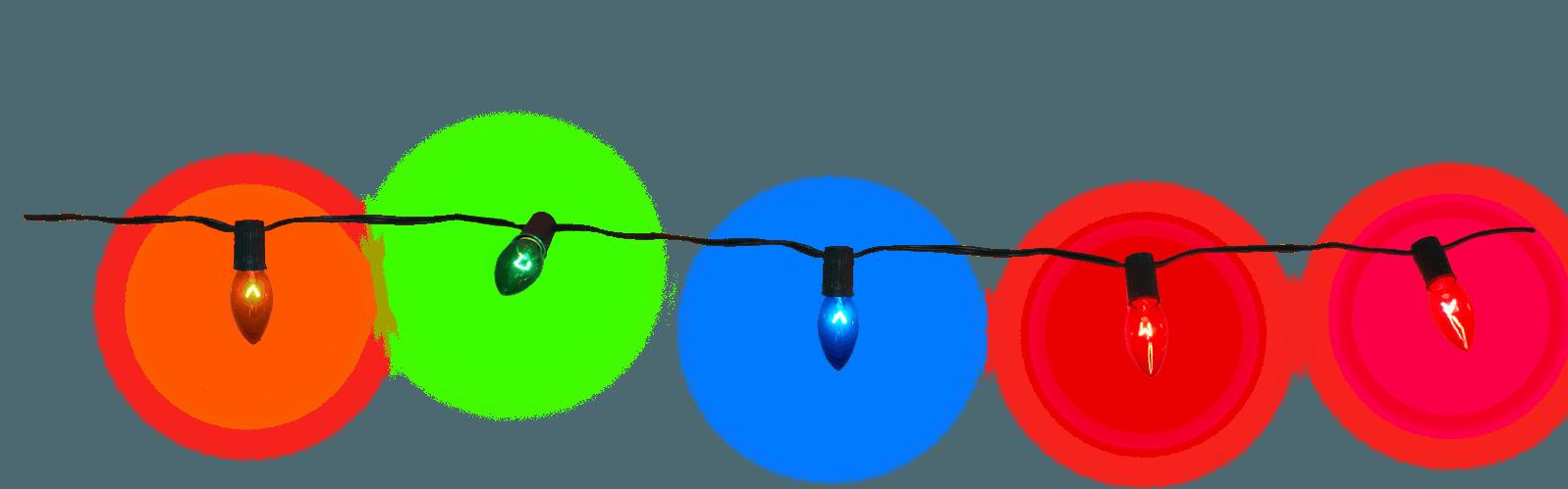 Luces De Navidad Png 1