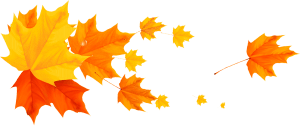 Fall Leafs PNG Clipart Picture Vi